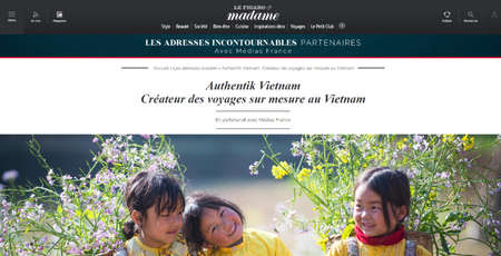 Authentik Vietnam sur Madame Le Figaro