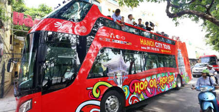 Visite de Hanoi à bord d'un bus Hop On Hop Off