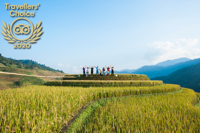 Authentik Vietnam - lauréat Travellers' Choice 2020 Tripadvisor