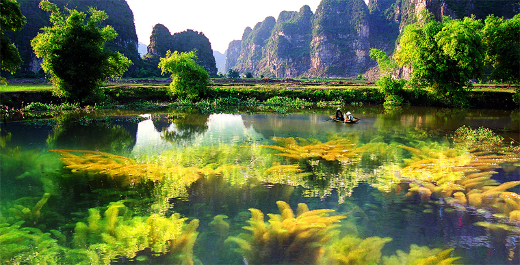 Van Long, le plus grand « tableau naturel » du Vietnam