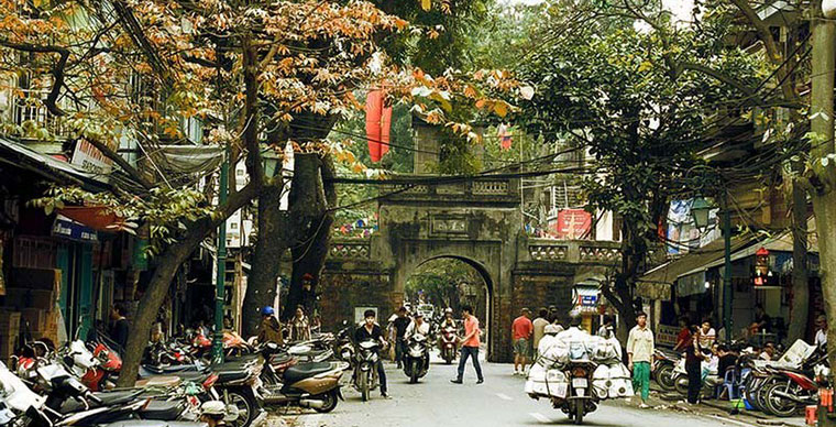 Le quartier des 36 corporations de Hanoi