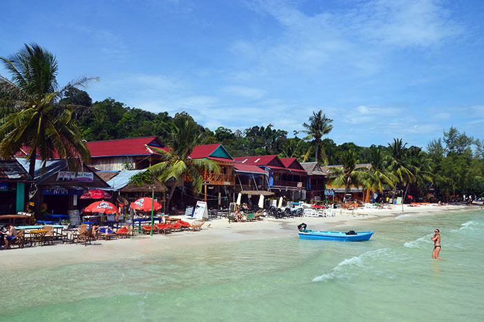 belles plages cambodge station balneaire sihanoukville