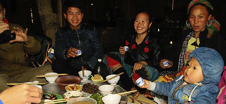 ethnie vietnam repas famille