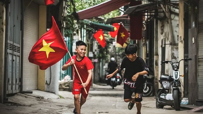 fête nationale Vietnam enfants