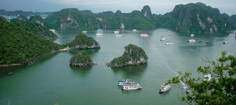 Baie ha long patrimoine naturel mondial