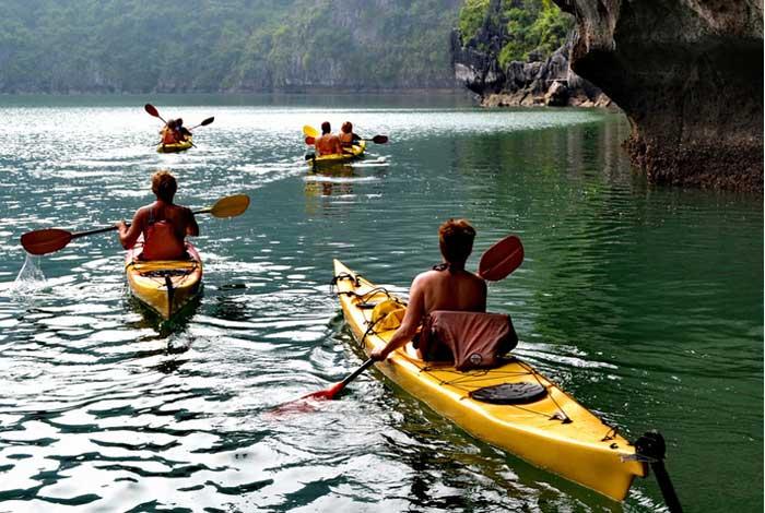 baie de lan ha kayak