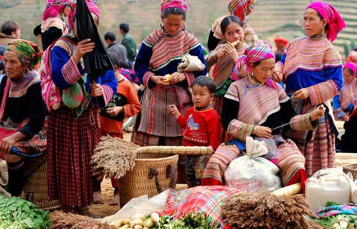 marche mongtagnard lao cai coc ly