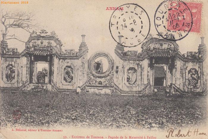 Tourane Vietnam pagode Faifoo