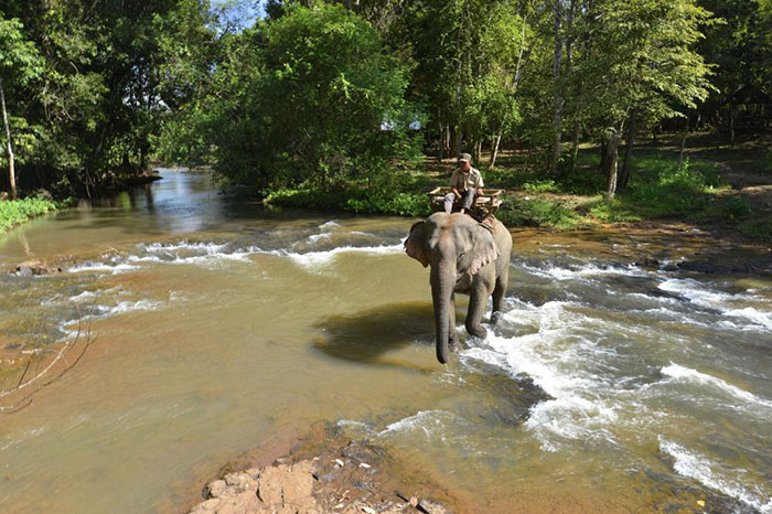 Parc national Virachey cambodge