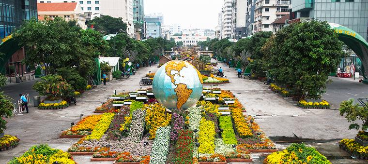 Saigon rue nguyen hue