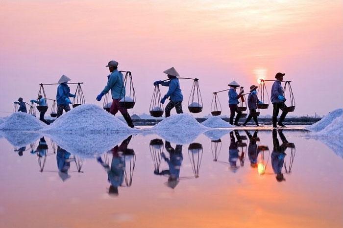 sel vietnam aube