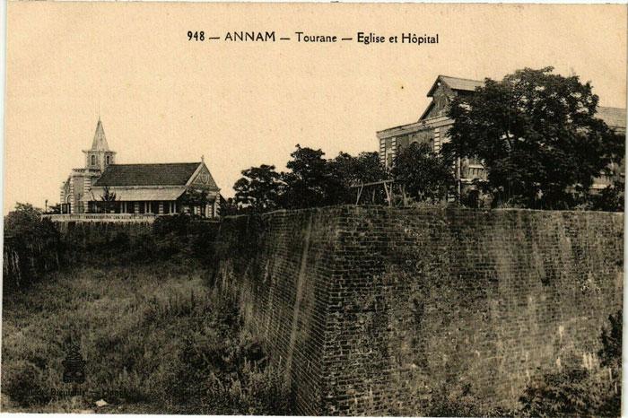 Tourane Vietnam eglise