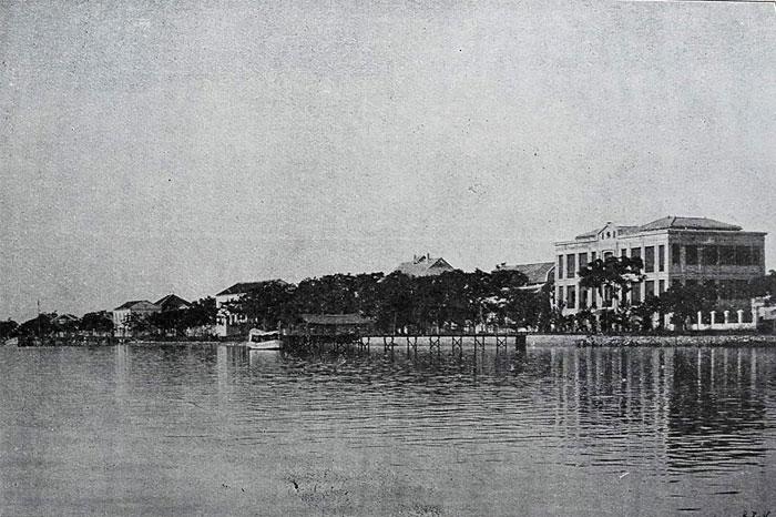 Tourane Vietnam vue ville