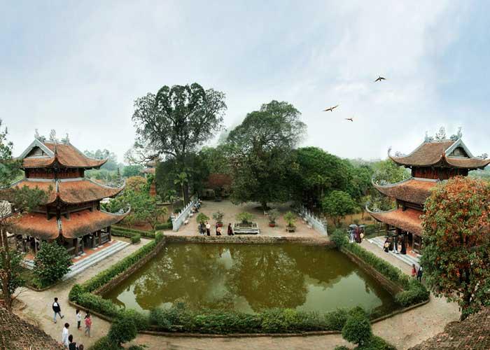 ancien village nom pagode linh thong