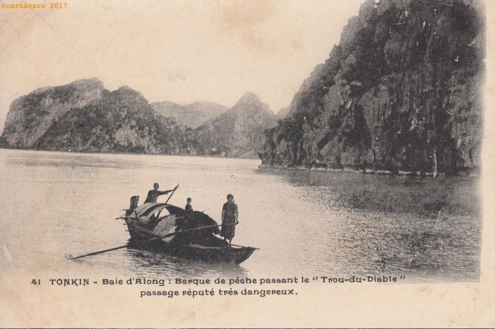 baie d'Halong barque peche