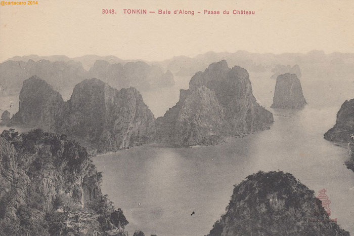 baie d'Halong passe chateau