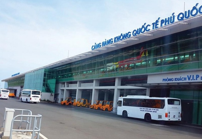 bus aeroport de phu quoc centre du bourg