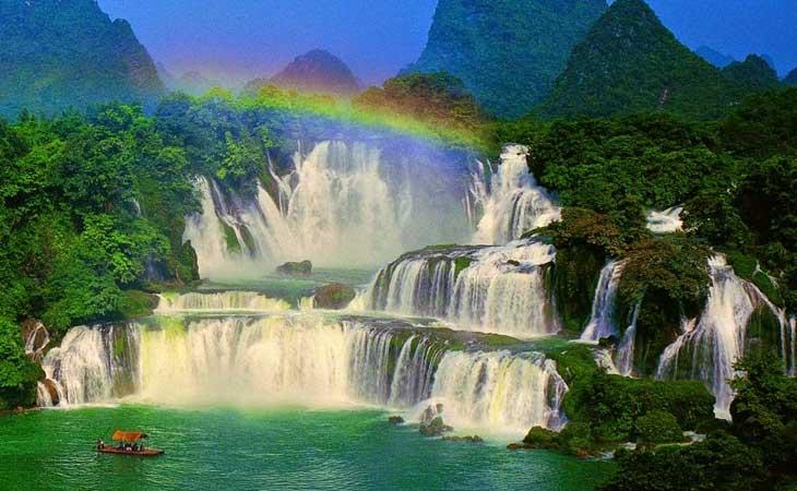 cascade ban gioc balade