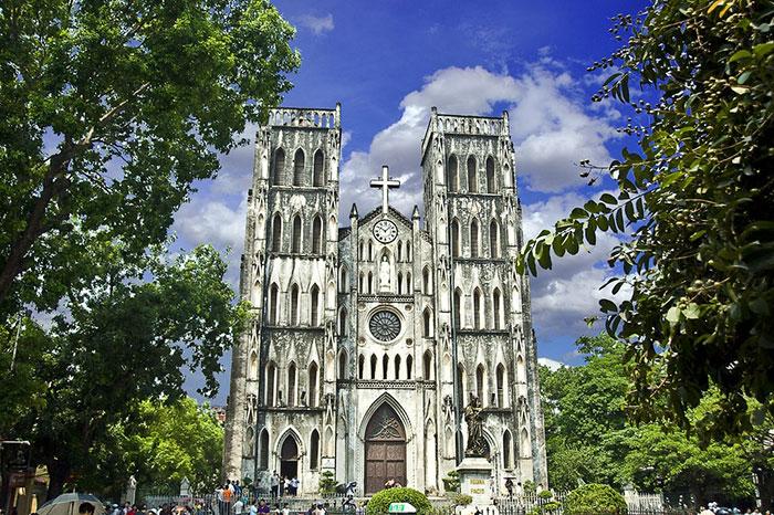 cathédrale Saint Joseph de Hanoï,