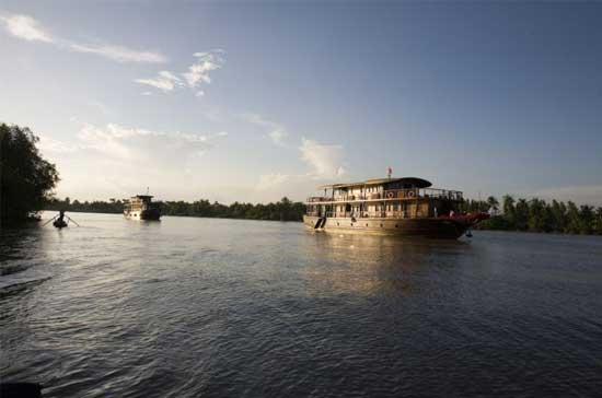 croisiere fleuve Mékong