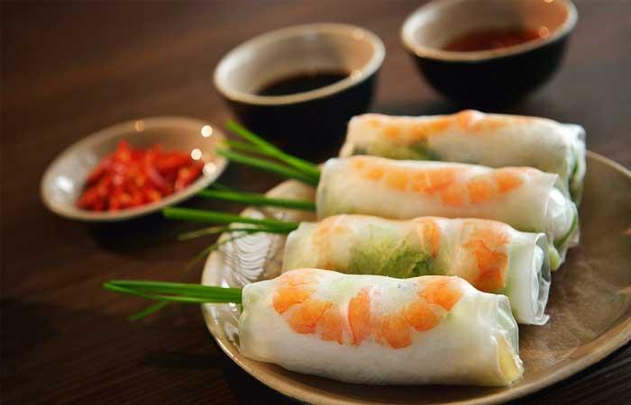 cuisine vietnamienne rouleaux printemps