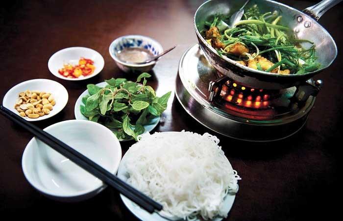 cuisine vietnamienne poisson frit