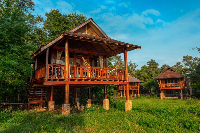 7 plus beaux ecolodges Laos Kingfisher Ecolodge