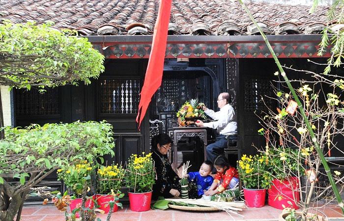 ethnie kinh vietnam maison traditionnelle