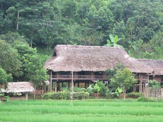 ethnie tay vietnam maison pilotis