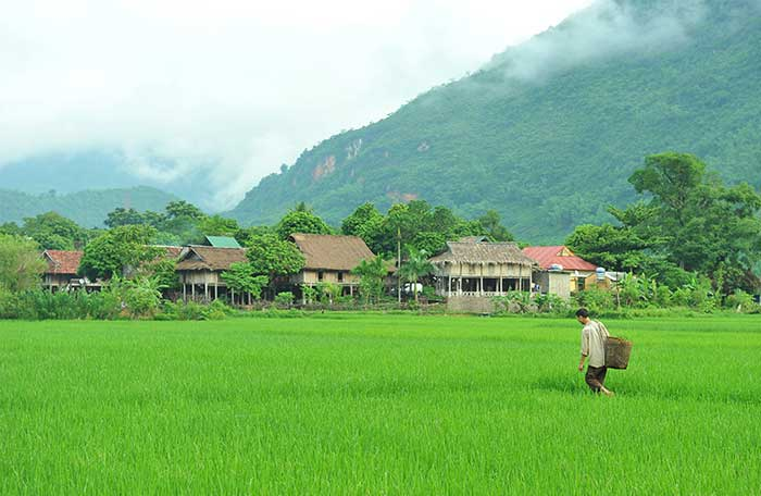 ethnie vietnam thai village