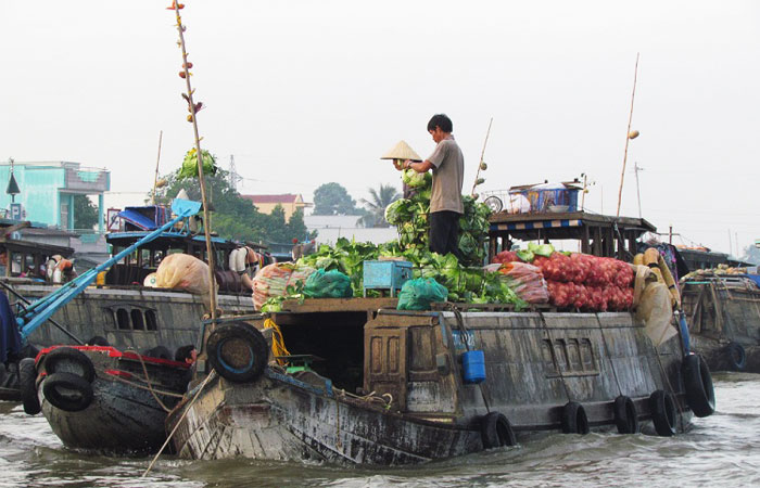 excursion delta mekong 2 3 4 ou 5 jours marche flottant