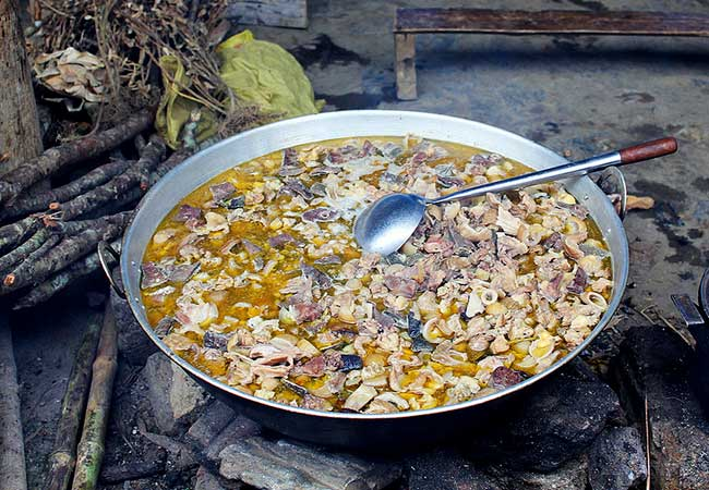 ha giang soupe abats de cheval