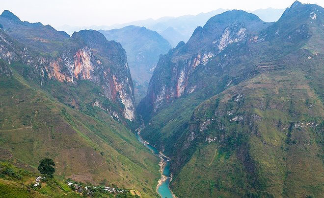 ha giang village ethnique riviere