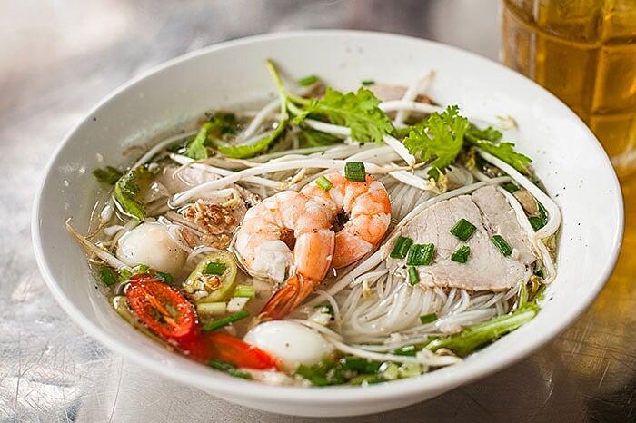 Spécialités culinaires sud Vietnam hu tieu