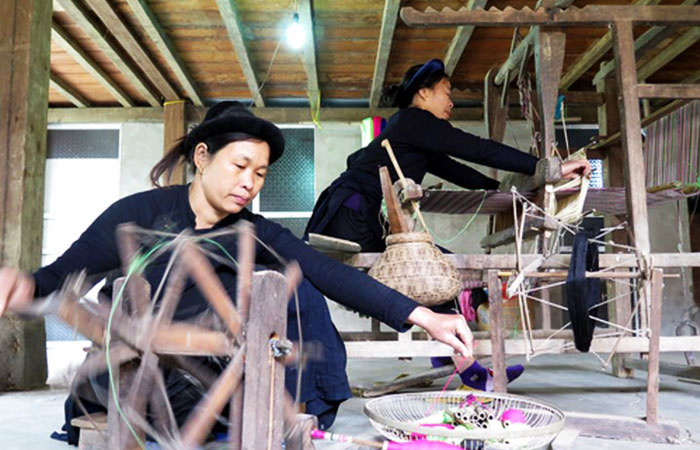 lac ba be vietnam artisanat