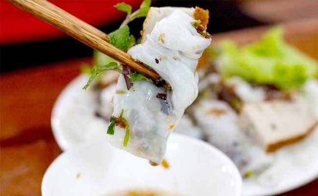 les banh cuon raviolis vietnamiens hanoi