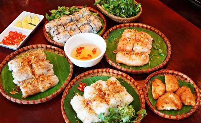 les banh cuon raviolis vietnamiens halong
