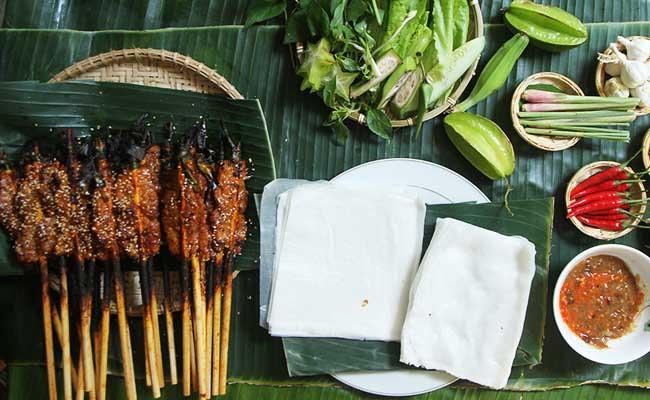 les banh cuon raviolis vietnamiens hue