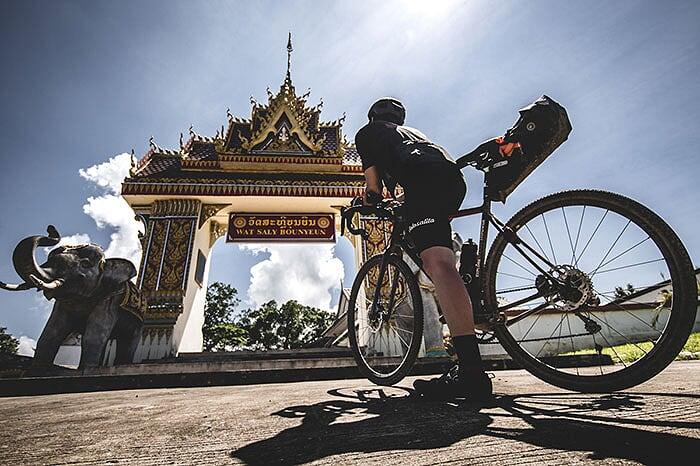 vélo Laos Luang Prabang