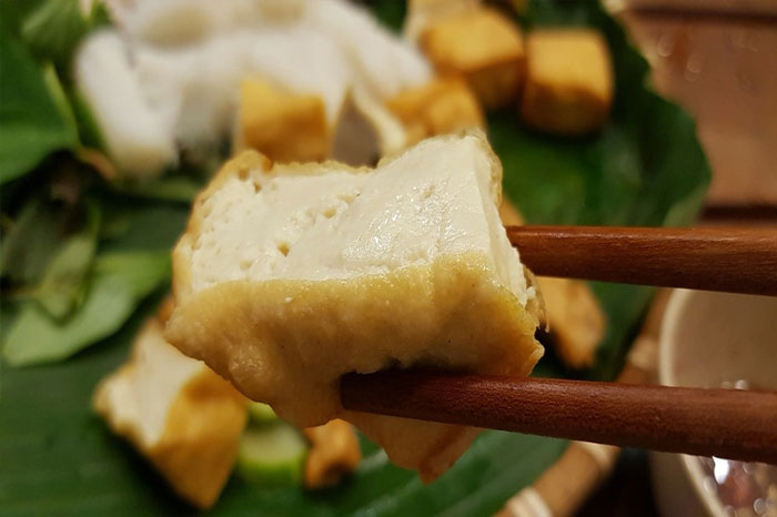 mam tom Vietnam tofu