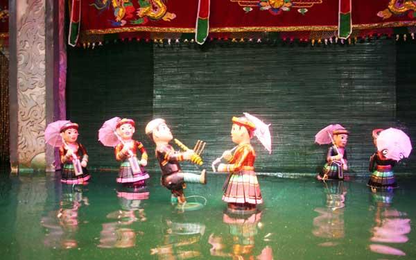 marionnettes sur eau hanoi danse