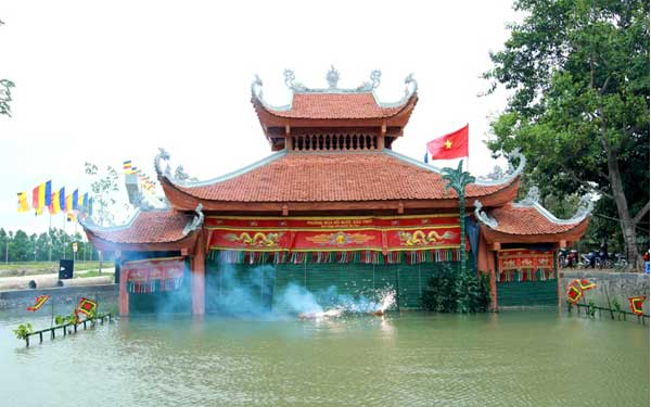 vietnam marionnettes sur eau plein air