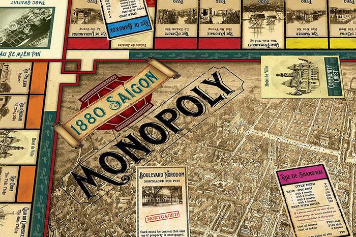 idées souvenirs Vietnam Monopoly