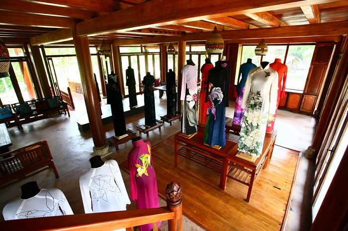 musee ao dai robe vietnamienne collection
