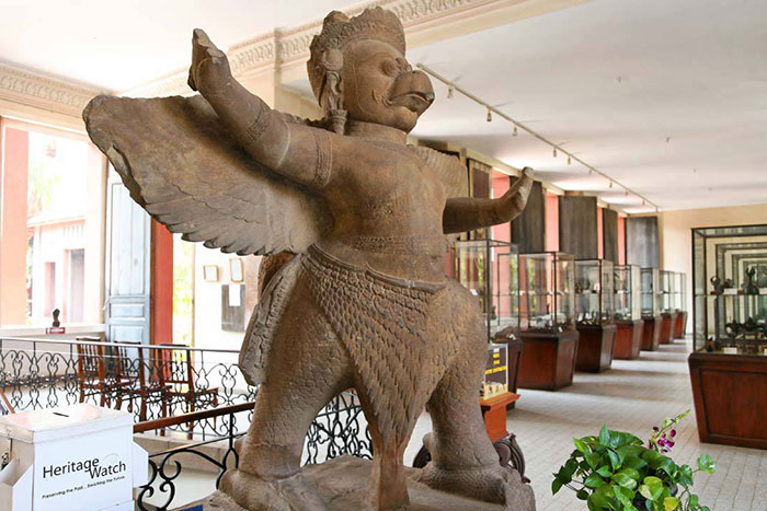musée national cambodge Garuda