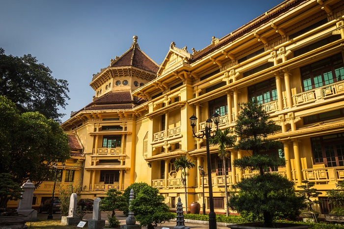 musee national histoire vietnam architecture francaise