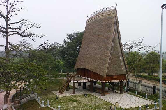 maison rong ethnie ba na tay nguyen