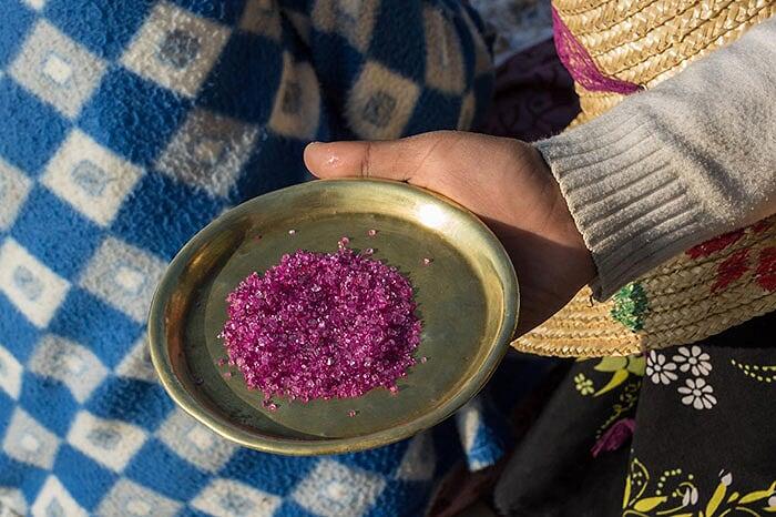 artisanat de Birmanie orfevrerie