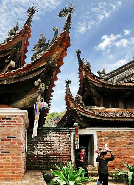 pagode tay phuong alleet visiter hanoi
