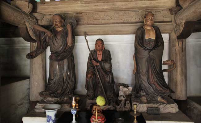 pagode tay phuong statues visiter hanoi
